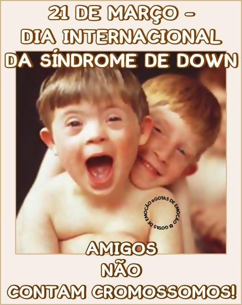 Dia Internacional da Síndrome de Down Imagem 7