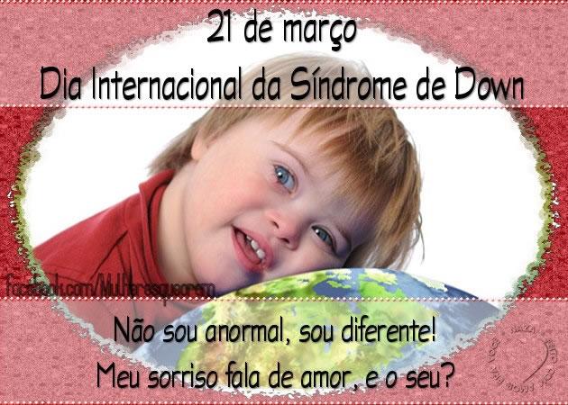Dia Internacional da Síndrome de Down Imagem 8