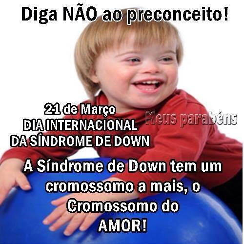 Dia Internacional da Síndrome de Down Imagem 9