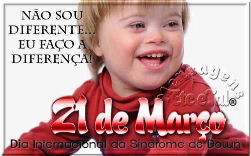 Dia Internacional da Síndrome de Down Imagem 3
