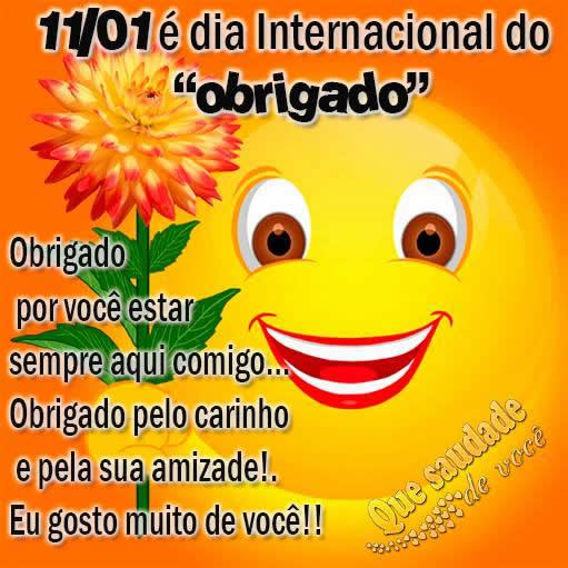 Dia Internacional do Obrigado Imagem 6