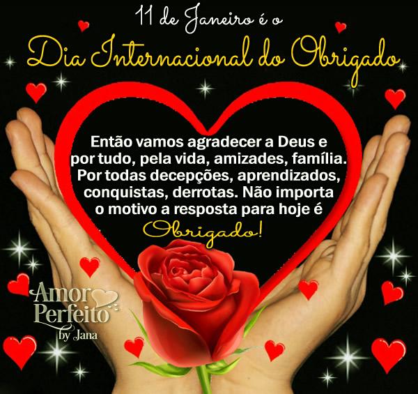 Dia Internacional do Obrigado Imagem 3