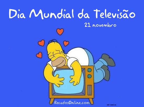 Dia Mundial da Televisão Imagem 1