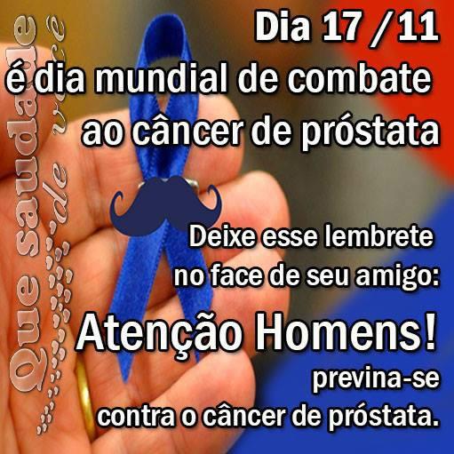 Dia Mundial de Combate ao Câncer de Próstata Imagem 2