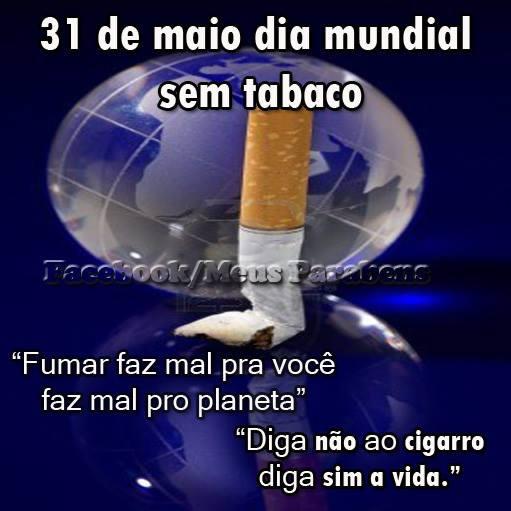 Dia Mundial sem Tabaco Imagem 5