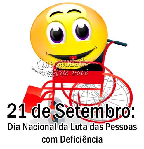 Dia Nacional da Luta das Pessoas com Deficiência imagem 1