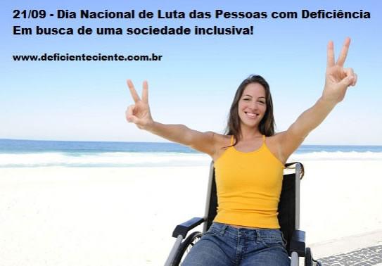 Dia Nacional da Luta das Pessoas com Deficiência imagem 4