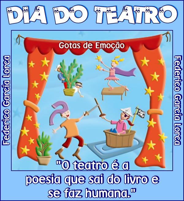 Dia Nacional do Teatro Imagem 2